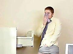 Di silvia di Saige catture dipendenti cornea nel suo ufficio