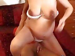 Pregnant Wife In Glasses Fuck