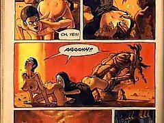 Quadrinhos eróticos de sexo hardcore