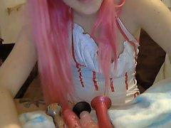 Sulu Teen Webcam oynuyor