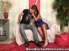 Shemale with Tight Anal Hole Get Fucked Hardcore