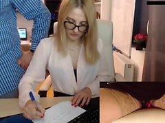 Blonde amateur européenne babe frappé en pov public