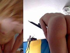 Diana Webcam MILF ama il grande dildo nero nel culo da