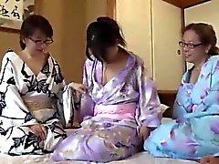Gallina CME-002 Tres maduro Leslie viaje de Hyogo Asago
