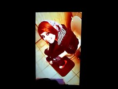 Kimberly Hoeppner on a toilet cum tribute 2