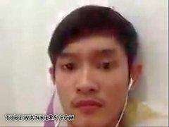 Galang indonésien Wanker on Cam