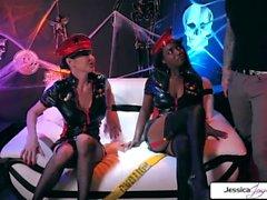 Jessica Jaymes & Daya Knight Halloween Party, großer Schwanz und große Beute