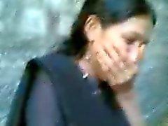 Desi College GF Sucking circumcised penis of BF In Hindi