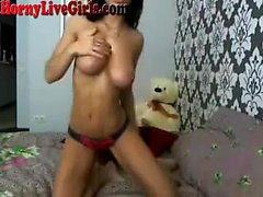Hot Webcam Girl Dildos Su coño