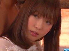 Momoka Rin hieno jäykkiä kukko likaantua Kiihkeä kohtauksissa