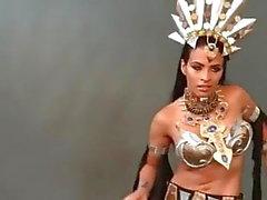 Zelina Vega WWE Seksi Dans