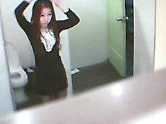 Tuvaletli Korea In Kamerası