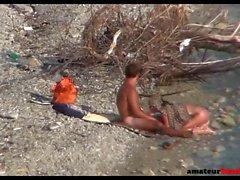 Beach sex caught on hidden camera