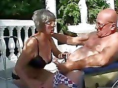 Luonnonoikku erittäin vanhan woman
