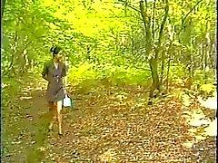 Französisch Anal im Wald
