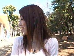 Lekte japansk tonåring brud