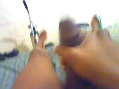 Guy masturbate on webcam