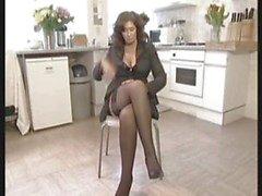 Geile Britse huisvrouw