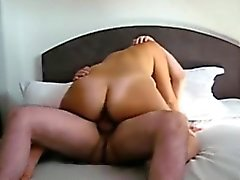 Girl Rides Cock And Gets A Morning Creampie