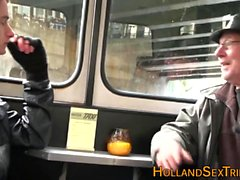 Reale succhiare puttana olandese