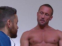 Exotiskt homosexuella klipp med Sex, Hunks scener