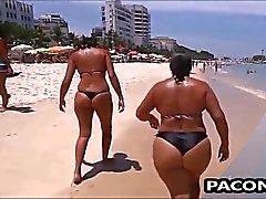 Sexy la mamma on the Beach