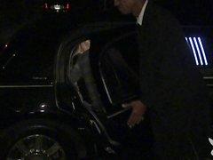 Sexy hanımlar limousine becerdin almak