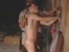 Cop gay clásico y del motorista