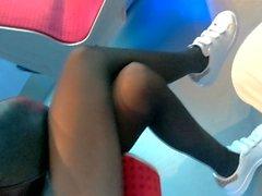 legs skirt voyeur