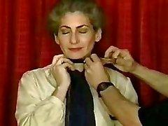 Gemolesteerd womans borsten