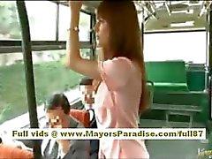 Di Rio asiatiche babe teen farsi limare la figa pelose accarezzò l'autobus
