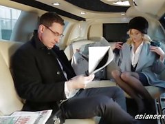 Blond sexig knullar Ambassador In His Limo - asiansexhd