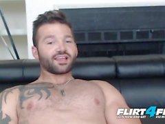 Flirt4Free üzerinde Maddox Ryker - Güzel Cock ile Hunky kas Stud You hakim