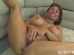Devon Michaels Fucks Herself With A Dildo