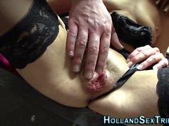 Dick chupando holandés Hooker