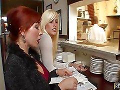 Rotes Haar für Restaurants Owner erhält Arschfick