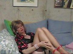 De donna de la Reine les sexy de de bas de Slut