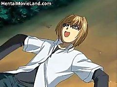 Sexy anime schoolmeisje wordt hard geneukt part6