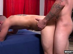 Big Dick Homosexuell Analsex und Cumshot