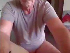 apuesto papá mostrar su culo!