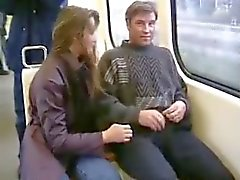 Teen GF sucks BF cock in public all over town