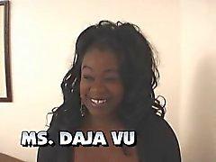 Ms Daja Vu (Black Vollweiber ) und ein weißes Kerl