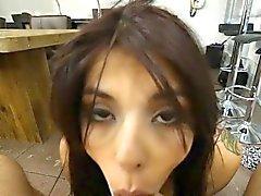 Gorgeous Amateur Gina Valentina POV Blowjob