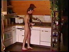 Naked In Kitchen 3