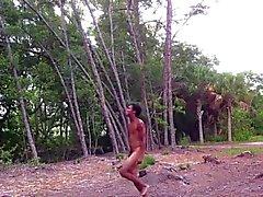 Naked Outdoor Dancer