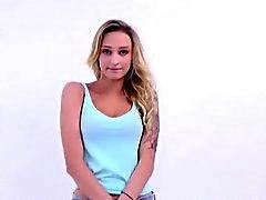 Diciotto modello di adolescente è inculare dal agente di casting ad Audition