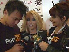 PornhubTV Алия Любовь Опрос на два тысячи четырнадцать AVN Awards