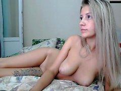 bonecas Olhos Azuis Webcam Strip e Masturbate alta resolução
