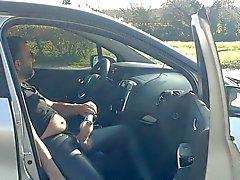 Tag hacerse una paja en el coche