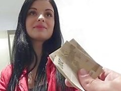 Czeh querida Alice agradável bateu por dinheiro